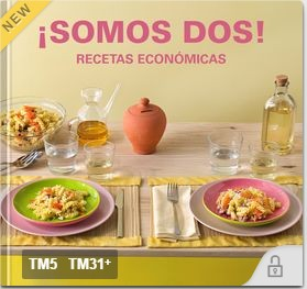 Nueva colección de recetas: ¡Somos Dos! (recetas económicas)