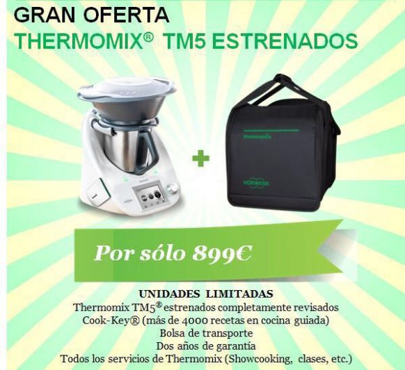 Un Thermomix® por tan solo 899€